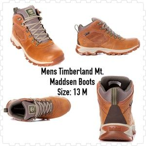 Mens Timberland Mt. Maddsen Boots
